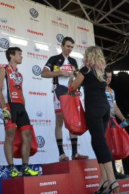 Andrew Taylor winning Cat 1 XC at Sea Otter