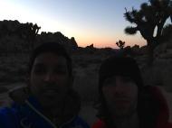 Classic J-tree sunset